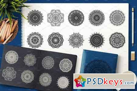 Vector Mandala Collection 1933480