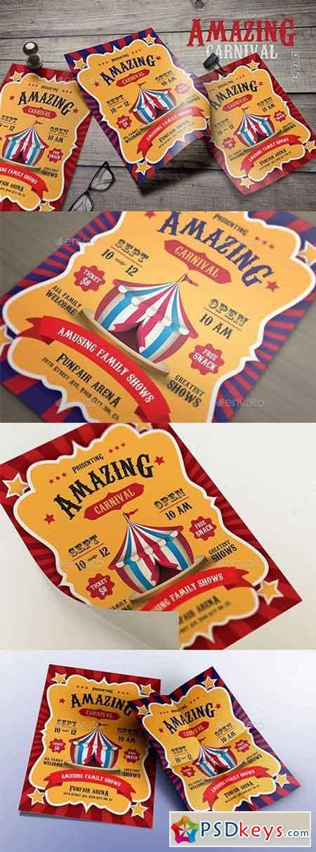Amazing Carnival Flyers 20805188