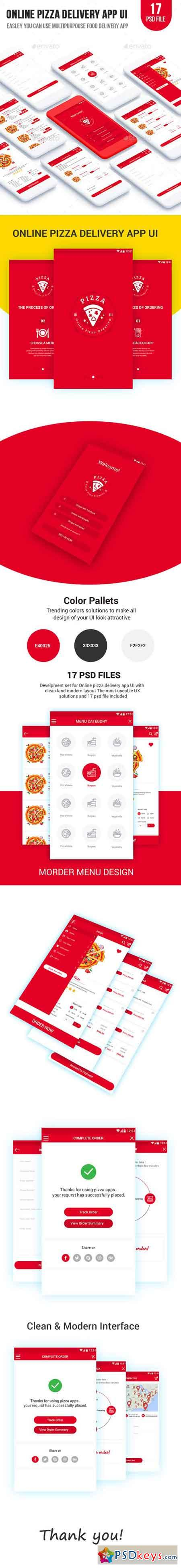Online Pizza Delivery App UI 20787998