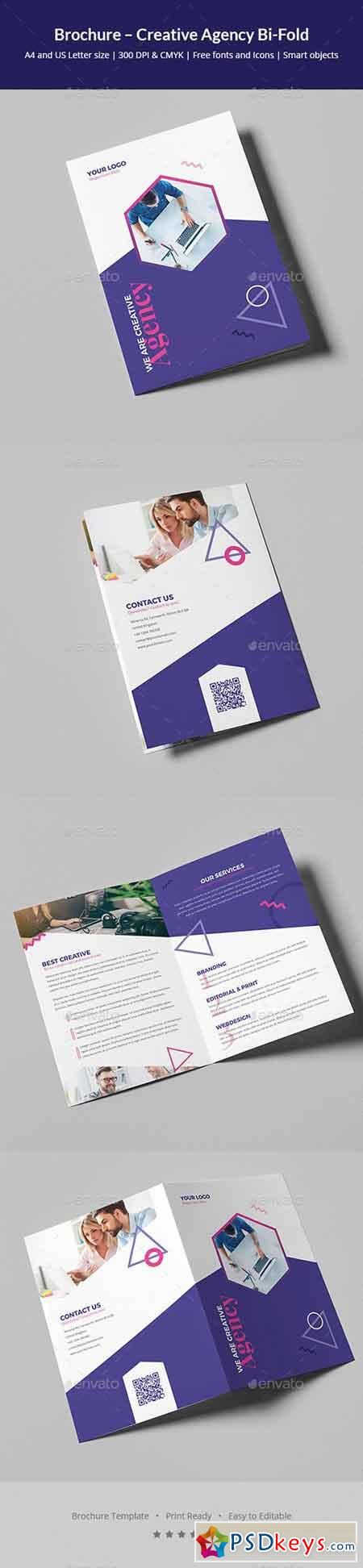 Brochure – Creative Agency Bi-Fold 20777303