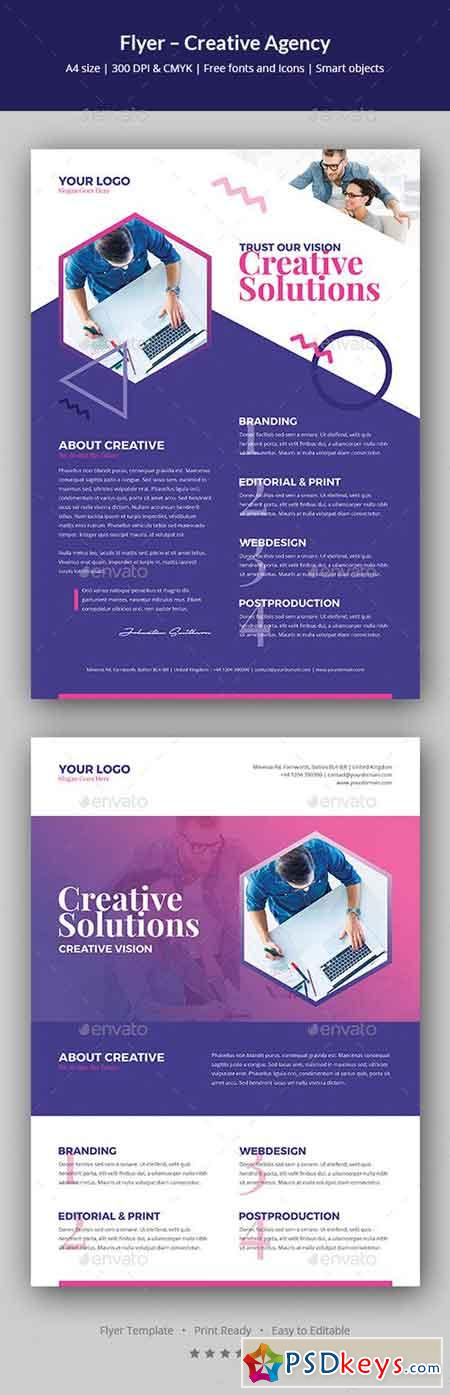 Flyer – Creative Agency 20794303