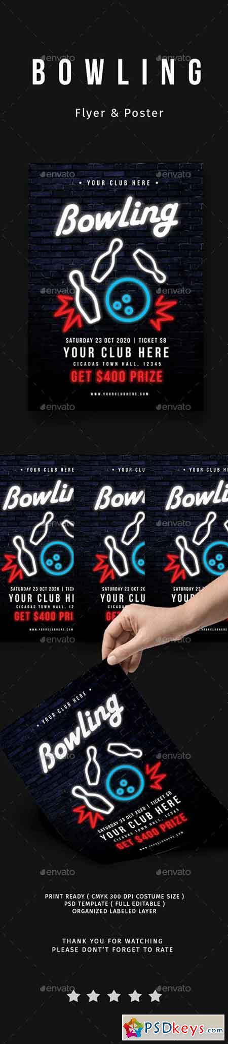 Bowling Tournament Flyer 20715836