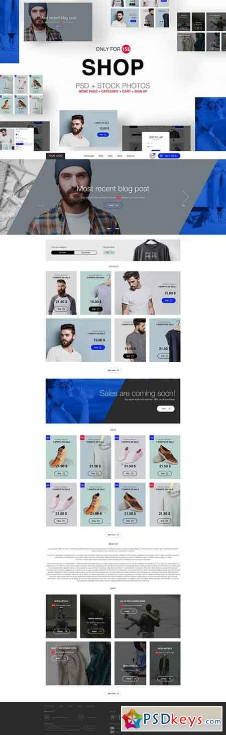 SIMPLE SHOP TEMPLATE 1926571