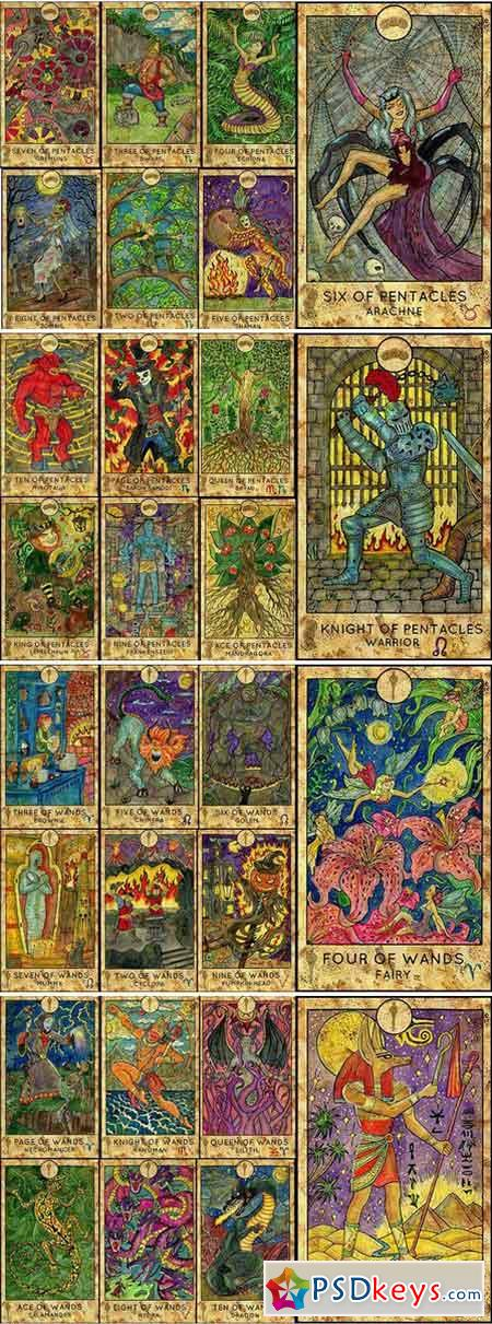 Fantasy World Tarot full deck 1890740
