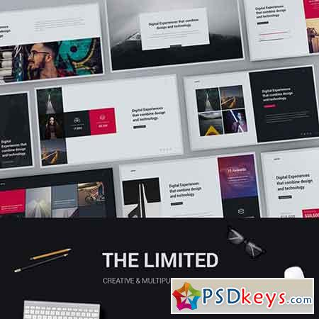 Limited - Creative & Modern Powerpoint Template 20403487