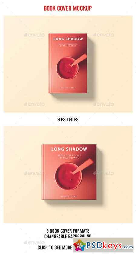 Long Shadow Book Cover Mockup 20654437