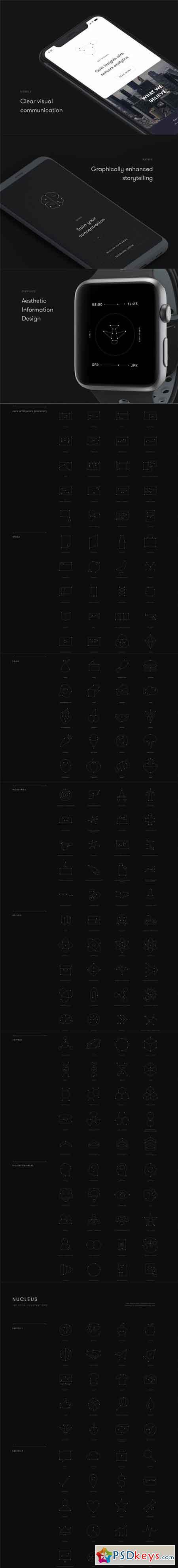 Nucleus Icon Set