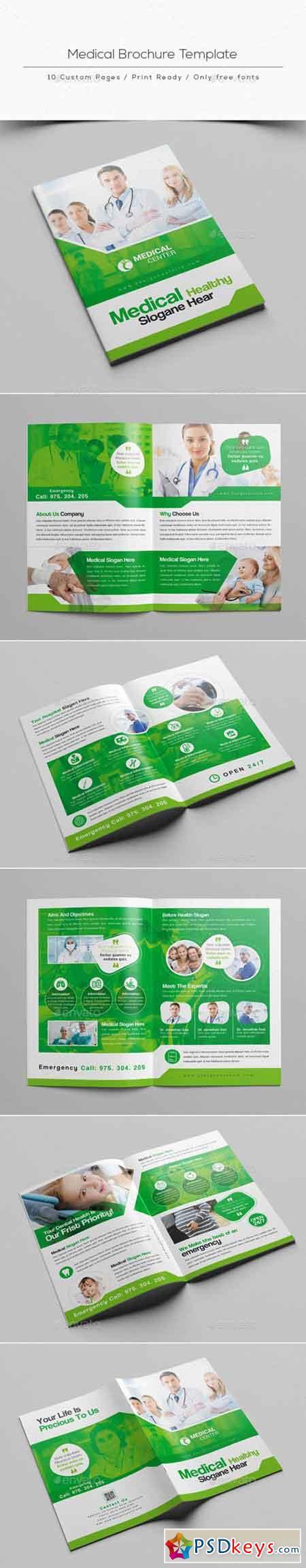 Medical Brochure Template 20856321