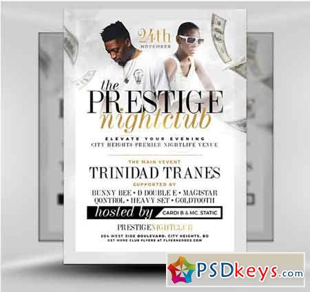 Prestige Nightclub Flyer Template
