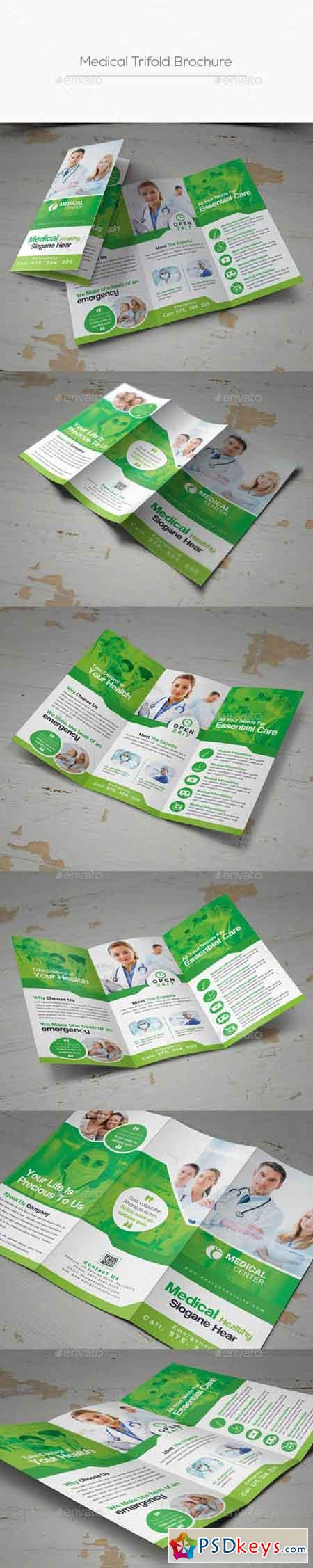 Medical Trifold Brochure 20848428