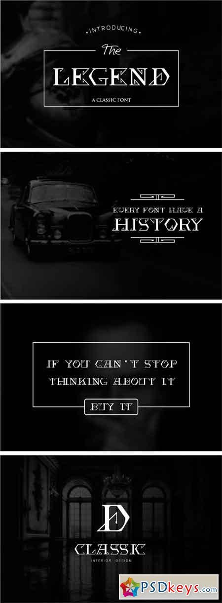 The Legend Font 1950404