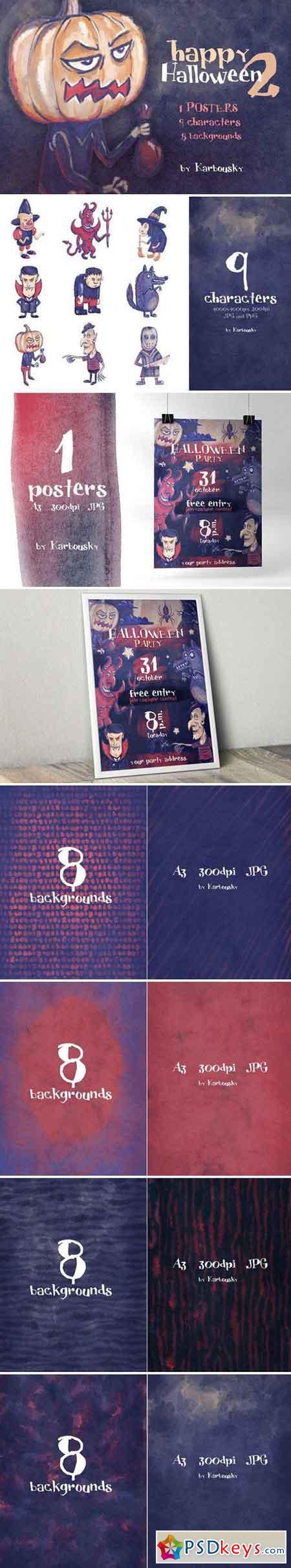 Happy Halloween set 2 (+poster) 1992157