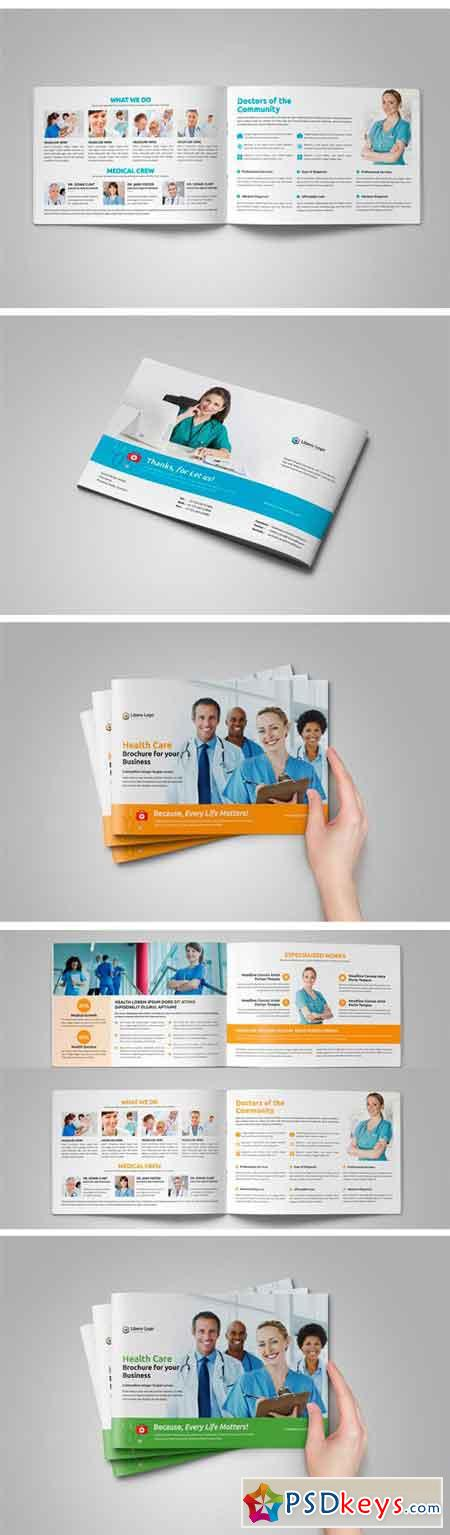 Medical Healthcare Brochure V   Free Download Photoshop