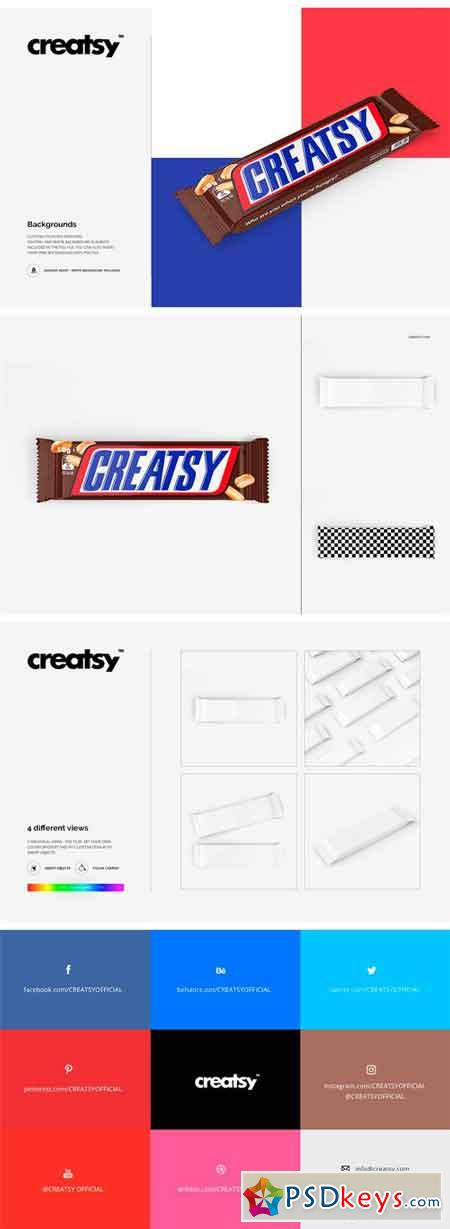 Bar Packaging Mockup Set 1972797