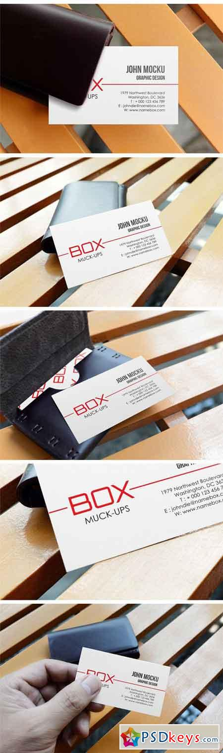 Realistic Business Card Mockups 1971186