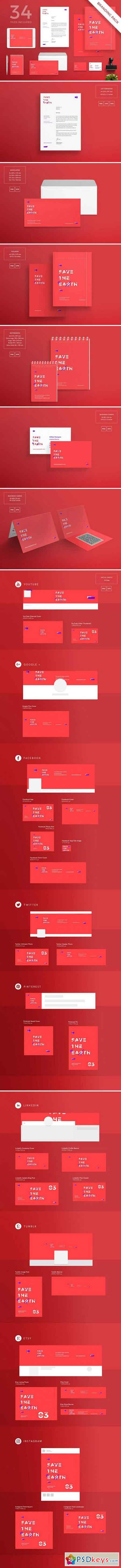 Branding Pack Save the Earth 1577200