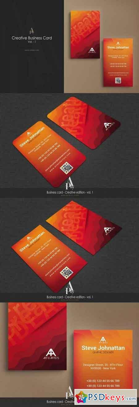 Creative Business Card - Vol. 1 1347140