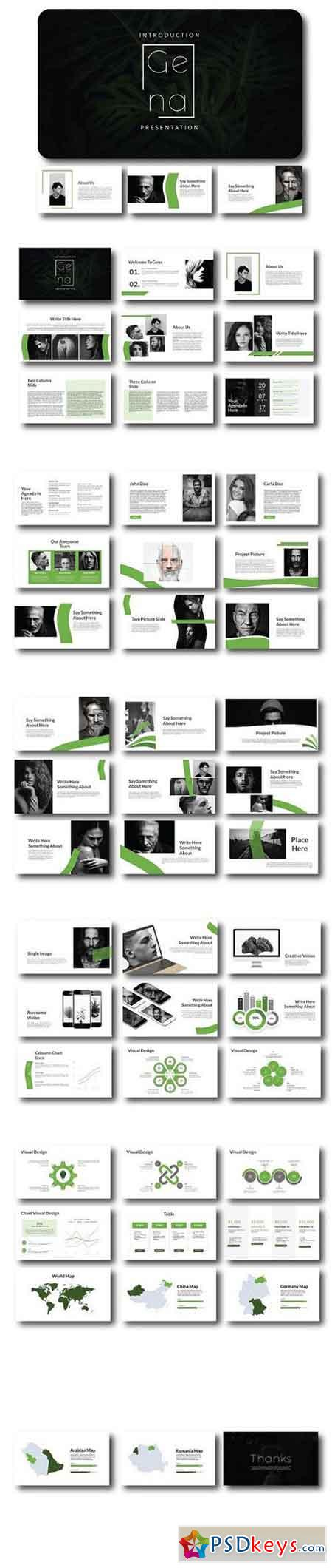 Powerpoint Sitemap Template