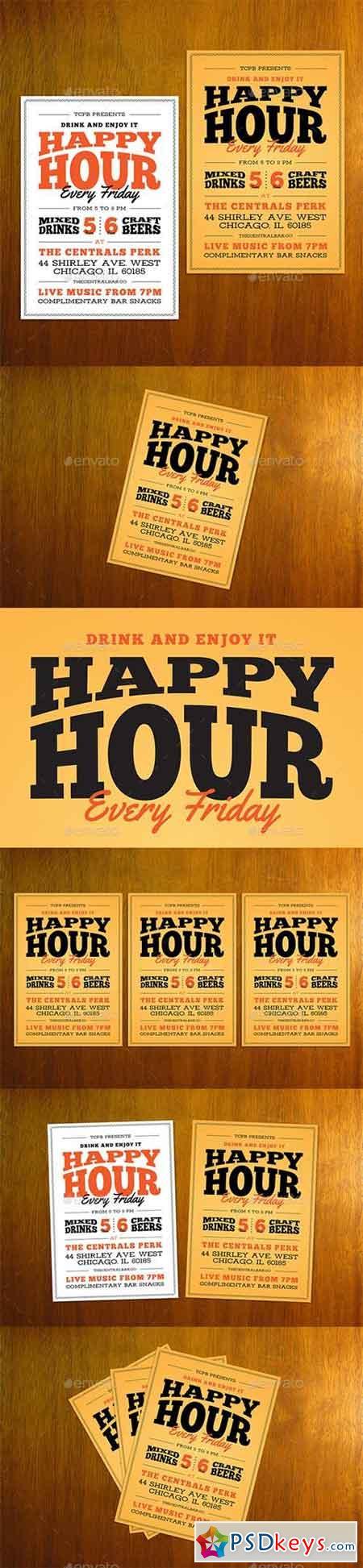 Happy Hour Flyer 20450223