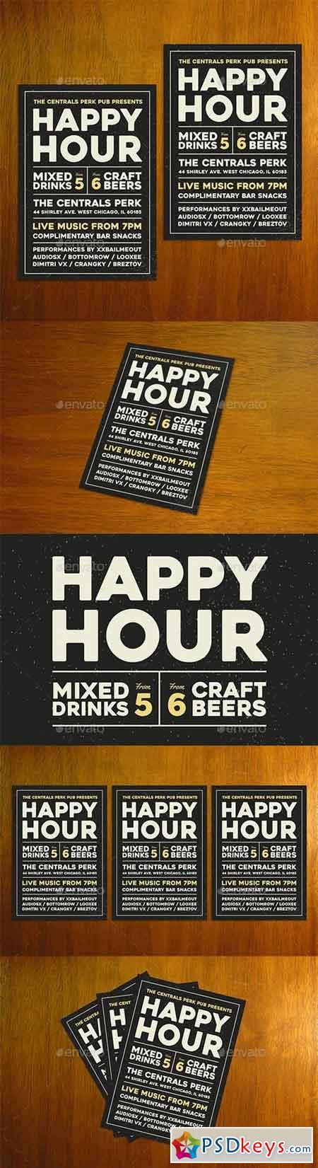 Happy Hour Flyer 20451219