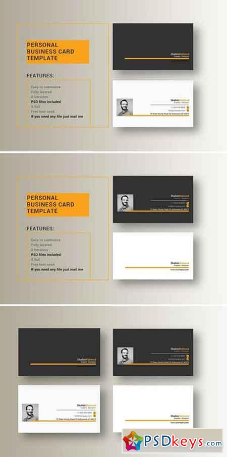Simple Business Card 1288302