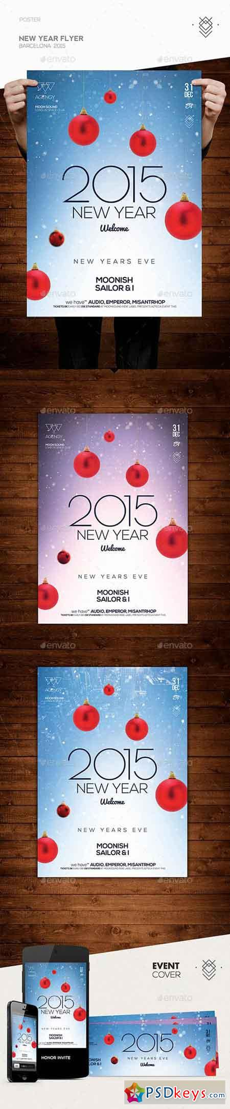 New Year Flyer 9845015