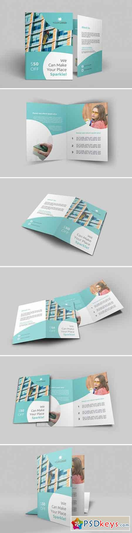 Cleaning Services Bi-Fold Brochure 1975372