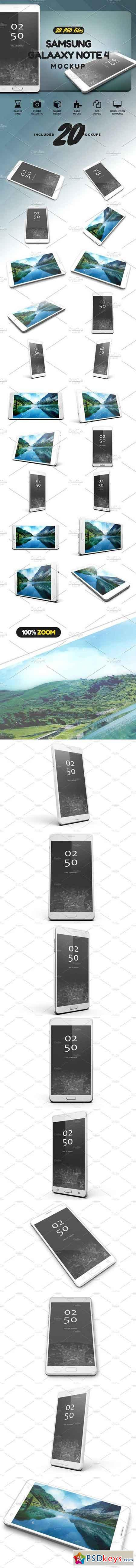 Samsung Galaxy Note 4 Mock-up 1990367