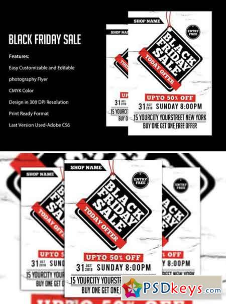 Black Friday Sale flyers 2043279
