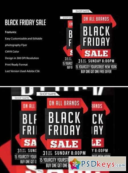 Black Friday Sale flyers 2043277