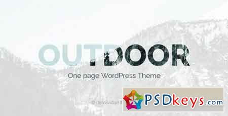 Outdoor v1.0.6 — One Page Responsive WordPress Theme