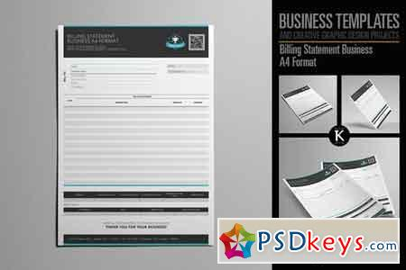 Billing Statement Business A4 2006563