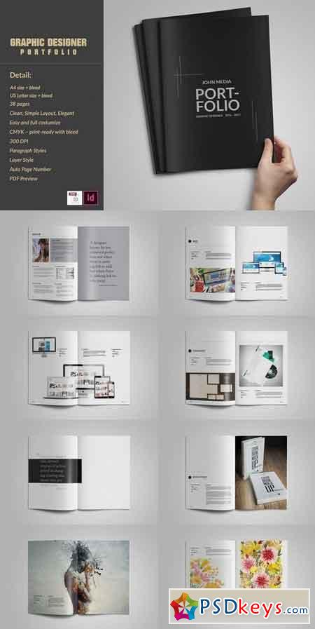 graphic designer portfolio template free download graphic designer portfolio template 1390476 free
