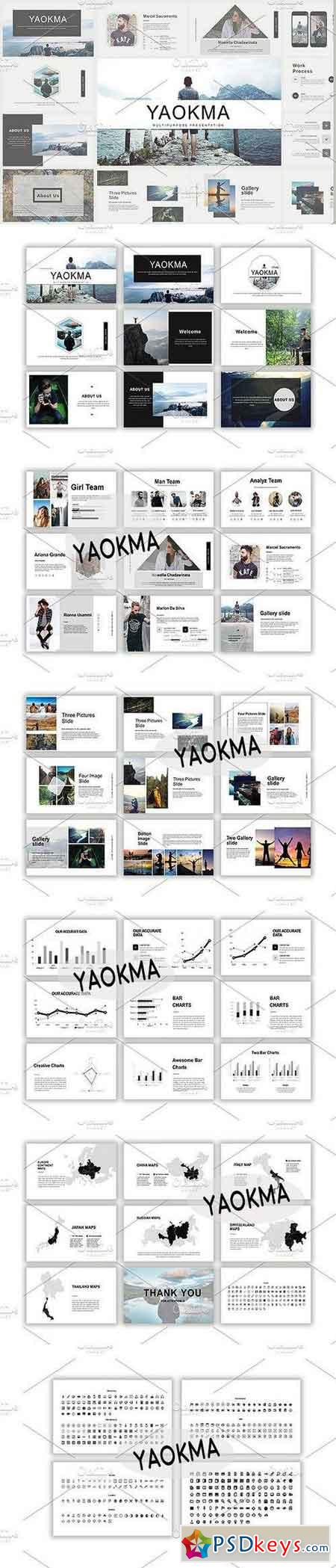 Yaokma Powerpoint Template 1458085