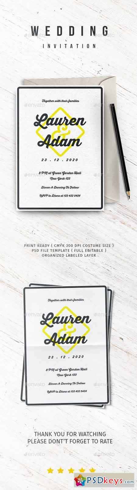 Wedding Invitation Vol.3 20932245