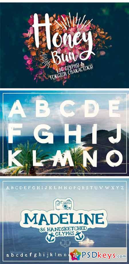 The All In One Font Bundle 1865995
