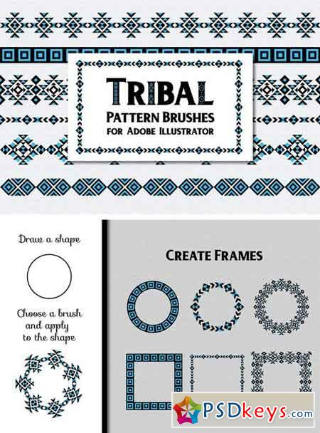 Tribal Pattern Brushes 2010121
