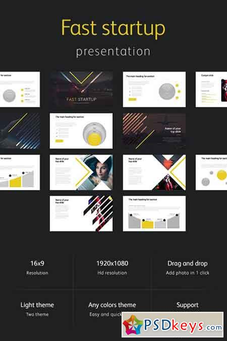 Fast Startup Powerpoint Template 20966944 Free Download Photoshop