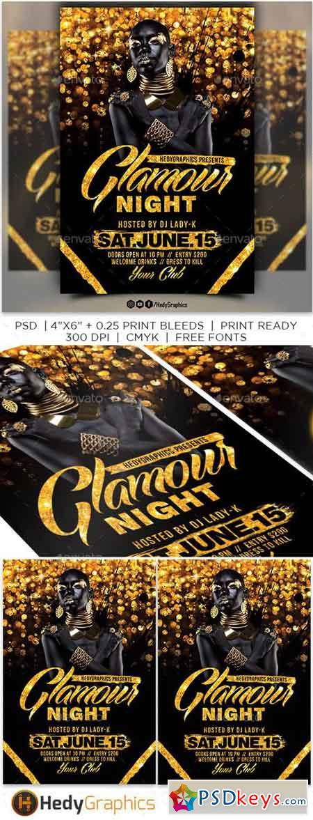 Glamour Night Flyer 20968130