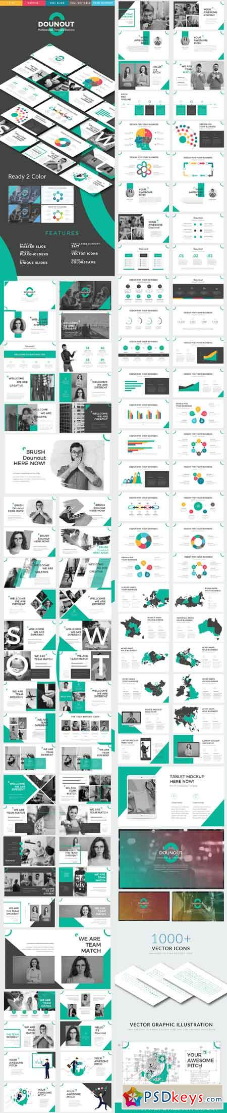 Dounot Powerpoint Template 20963359