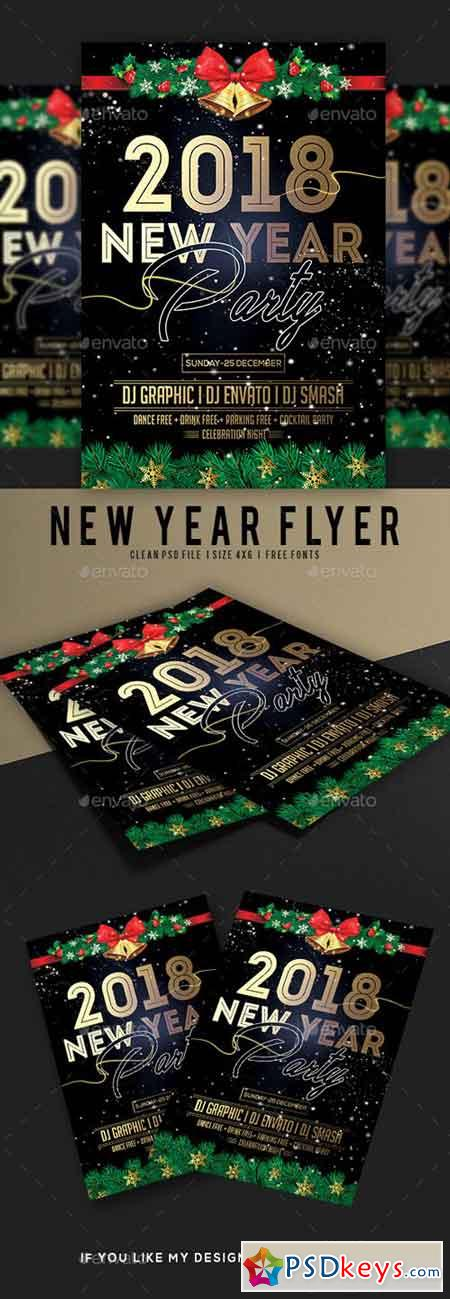 New Year Flyer 20968253