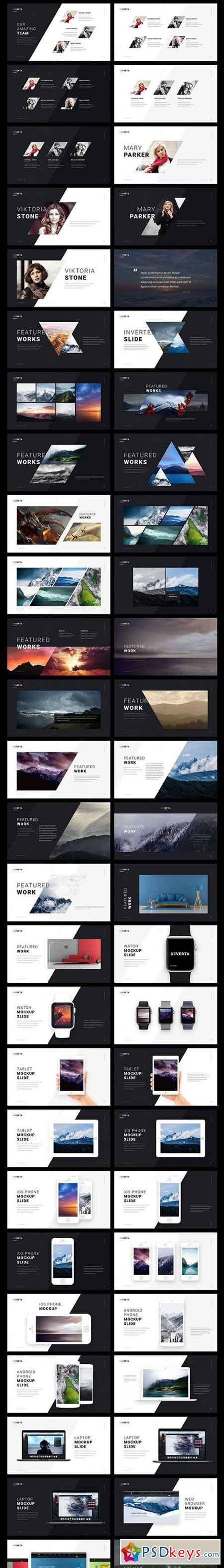 Reverta Google Slides Template 1431389 » Free Download Photoshop ...