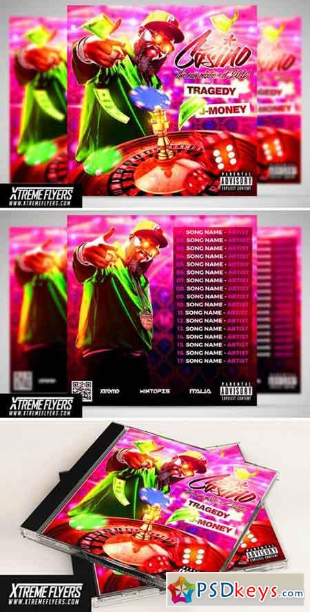 Mixtape Cover Template 1809906