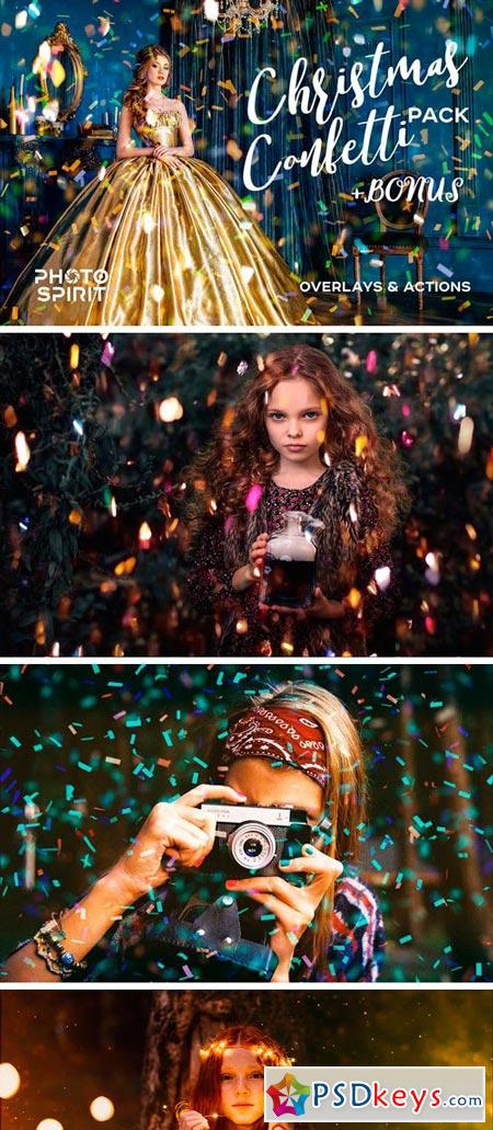 Confetti Overlay Effect In Photoshop 2038910