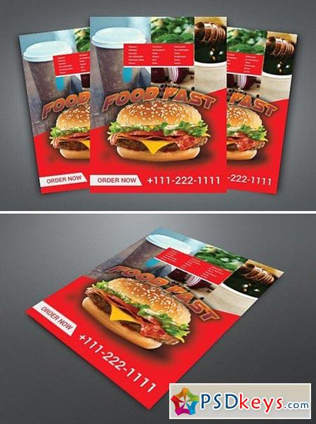 Fast Food Flyer 2024328