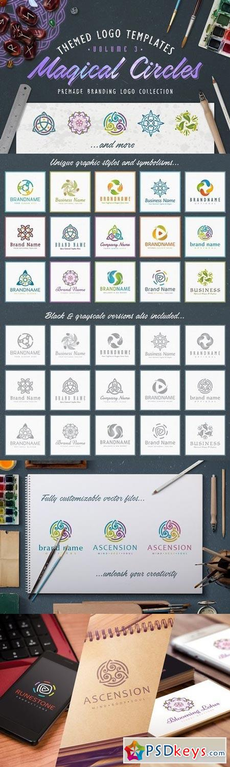 Logo Bundle Vol3 - Magical Circles 1337774