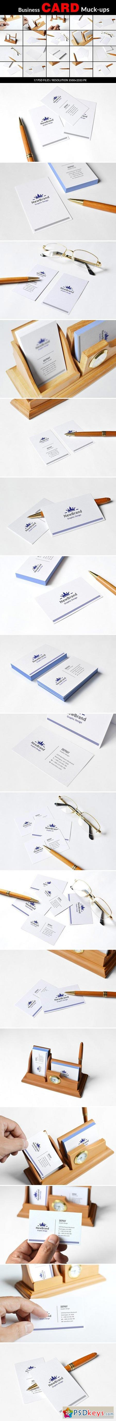 Business Card Mockups 2008310