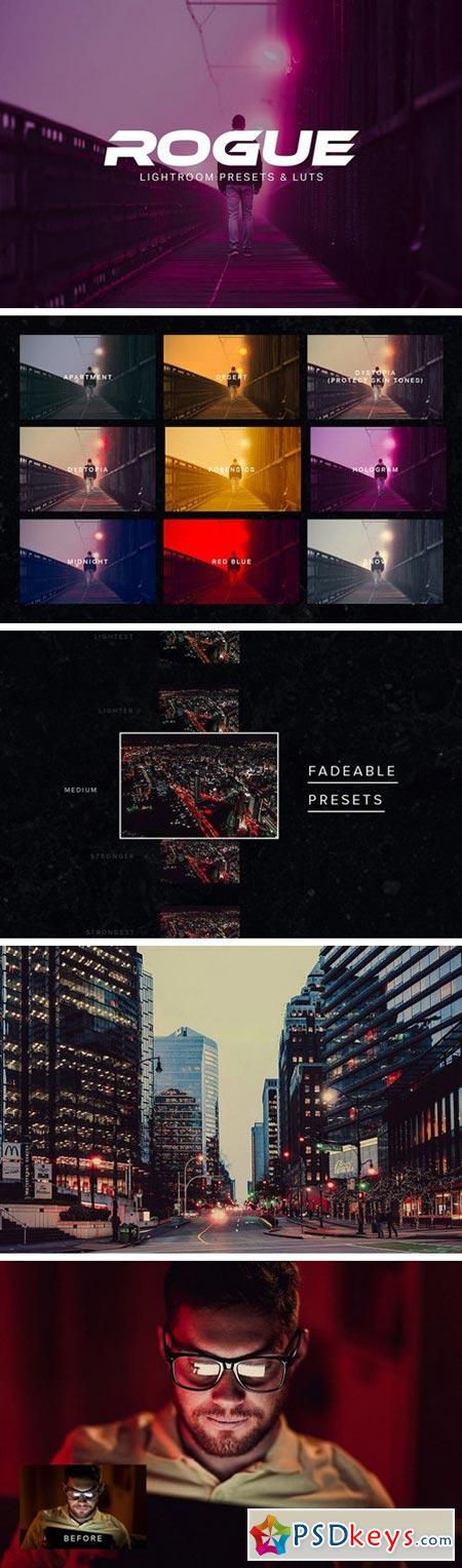 Rogue - Lightroom Presets and LUTs 1974021 » Free Download