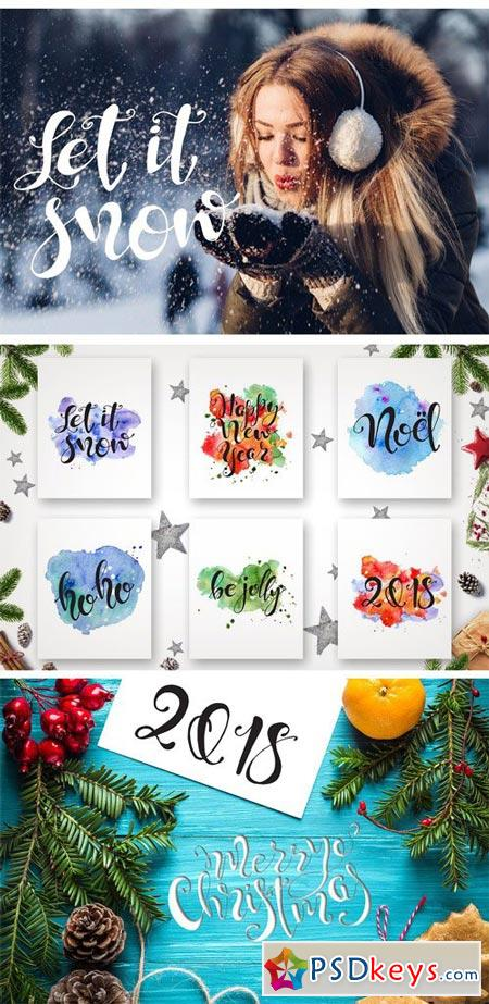 Christmas Quotes Hand Lettering DIY 2021920