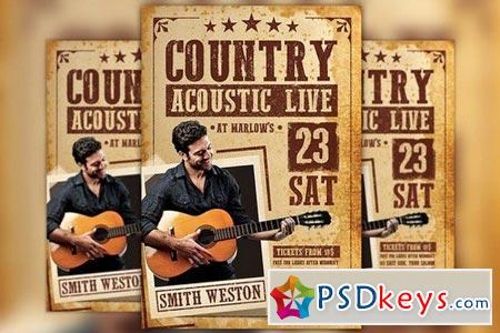Country Acoustic Night Flyer 1773334